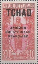 "[Overprinted ""AFRIQUE EQUATORIALE FRANCAISE"" - New Colors & Values, type D26]"