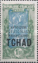 "[Overprinted ""AFRIQUE EQUATORIALE FRANCAISE"" - New Colors & Values, type D27]"