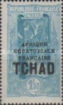 "[Overprinted ""AFRIQUE EQUATORIALE FRANCAISE"" - New Colors & Values, type D29]"