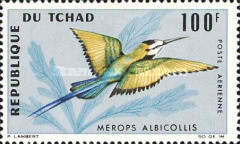 [Airmail - Birds, type DA]