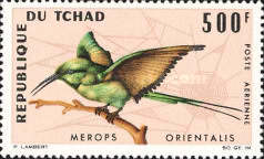[Airmail - Birds, type DC]