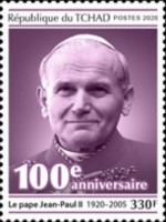 [The 100th Anniversary of the Birth of Pope John Paul II and Pastoral Visits of Pope John Paul II, type DDM]