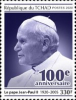 [The 100th Anniversary of the Birth of Pope John Paul II and Pastoral Visits of Pope John Paul II, type DDO]