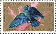 [Airmail - Birds, type DI]