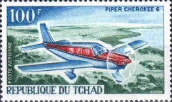 [Airline - The 1st Anniversary of Air Chad Airline, type DT]