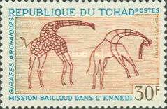[Bailloud Mission in the Ennedi - Rock Paintings, type EB]