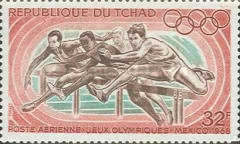 [Airmail - Olympic Games - Mexico, type EV]