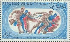[Airmail - Olympic Games - Mexico, type EW]