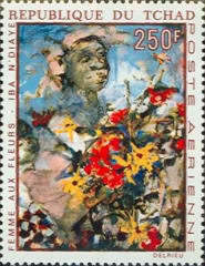 [Airmail - African Paintings by N'Diaye, type IK]