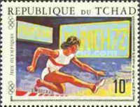 [Airmail - Olympic Games - Athens, Tokyo, Mexico and Munich, type IO3]