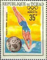 [Airmail - Olympic Games - Athens, Tokyo, Mexico and Munich, type IO4]