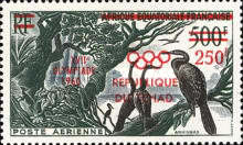 [Airmail - Issue of 1953 of French Equatorial Africa Overprinted