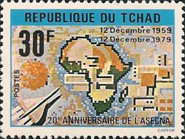[The 20th Anniversary of African Air Safety Organization (ASECNA), type WC1]