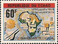 [The 20th Anniversary of African Air Safety Organization (ASECNA), type WC2]