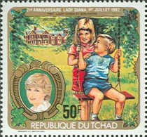 [The 21st Anniversary of the Birth of Diana, Princess of Wales, type WO]
