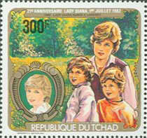 [The 21st Anniversary of the Birth of Diana, Princess of Wales, type WR]