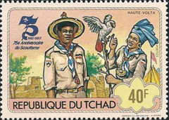 [The 75th Anniversary of Scout Movement, type WW]
