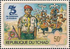 [The 75th Anniversary of Scout Movement, type WX]
