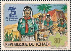 [The 75th Anniversary of Scout Movement, type WZ]