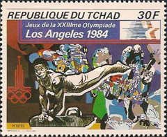 [Olympic Games - Los Angeles 1984, USA, type XE]