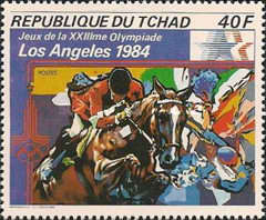 [Olympic Games - Los Angeles 1984, USA, type XF]