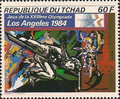 [Olympic Games - Los Angeles 1984, USA, type XH]
