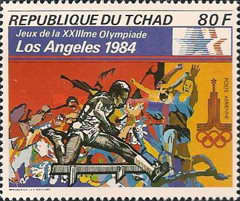 [Olympic Games - Los Angeles 1984, USA, type XI]