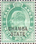 [King Edward VII, 1841-1910 - India Postage Stamps Overprinted