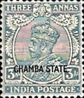 [King George V, 1865-1936 - India Postage Stamps Overprinted