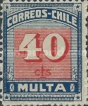 [Numeral Stamps - New Design, type E5]