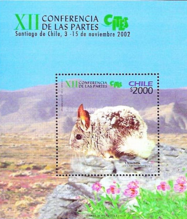 [The 12th Convention of International Trade in Endangered Species - Santiago, Chile, type ]