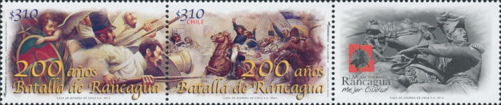 [The 200th Anniversary of the Battle of Rancagua, type ]