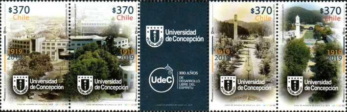 [The 100th Anniversary of the University of Concepción, type ]