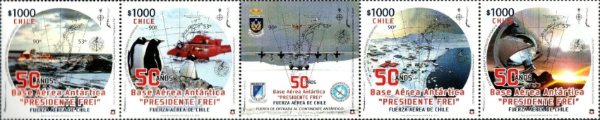 [The 50th Annviersary of the Eduardo Frei Antarctic Base, type ]
