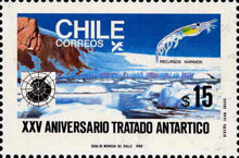 [Antarctic Territories and 25th Anniversary of Antarctic Treaty, type AFH]