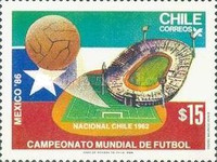 [Football World Cup - Mexico 1986, type AGK]