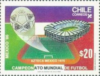 [Football World Cup - Mexico 1986, type AGL]