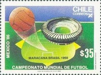 [Football World Cup - Mexico 1986, type AGM]