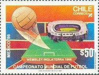 [Football World Cup - Mexico 1986, type AGN]