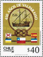 [The 450th Anniversary of Valparaiso, type AGS]
