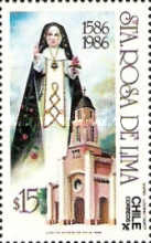 [The 400th Anniversary of the Birth of St. Rosa of Lima, type AGU]
