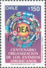 [The 100th Anniversary of Organization of American States, type APQ]