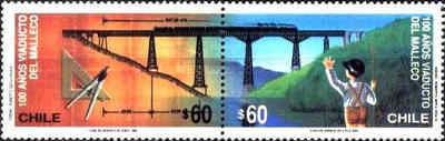 [The 100th Anniversary of Malleco Viaduct, type ARB]