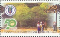 [The 50th Anniversary of Forestry Education, type BQM]