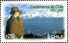 [The 80th Anniversary of the Chilean Police, type BTW]
