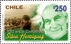 [The 100th Anniversary of the Birth of Cardinal Silva Henriquez, 1901-1999, type BUG]