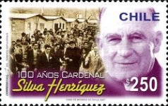 [The 100th Anniversary of the Birth of Cardinal Silva Henriquez, 1901-1999, type BUI]