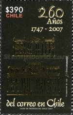 [The 260th Anniversary of Chilean Post, type BVC]