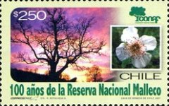 [The 100th Anniversary of Malleco National Reserve, type BVP]