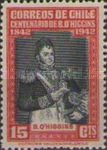 [The 100th Anniversary of the Death of Bernardo O'Higgins, 1778-1842, type EV]